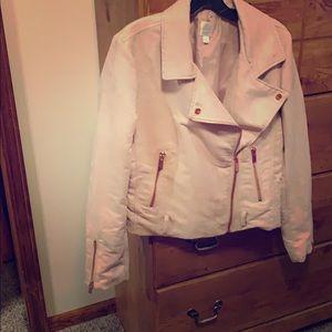Lauren Conrad pink suede jacket! ❤️❤️